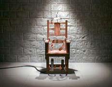 Последняя жертва на «электрическом стуле»