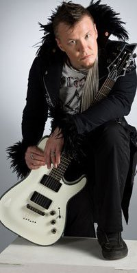 ID, гитарист группы СЛОТ