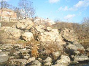 загадочная долина камней