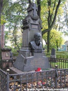 Надгробие Достоевского