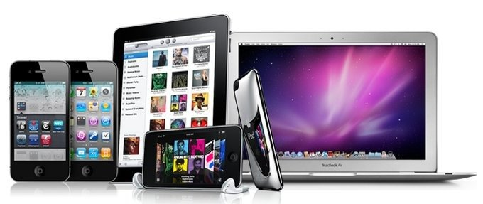 десятки гаджетов от компании Apple