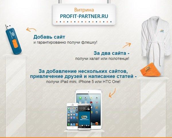 Profit-Partner – лучший инструмент для заработка на сайтах