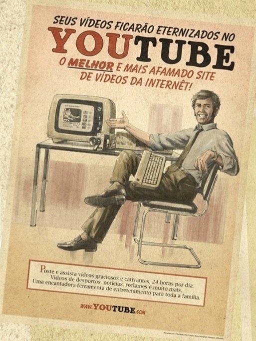 Плакат YouTube