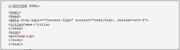 Способы подключения разметки CSS к HTML